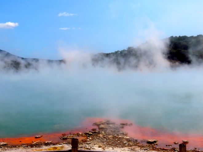champagne pool, rotorua, new zealand, waiotapu, wai o tapu, vacation, holiday, new zealand