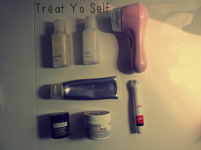 treat yo self, lazy day, beauty, skincare