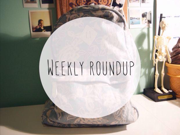weekly roundup, roundup