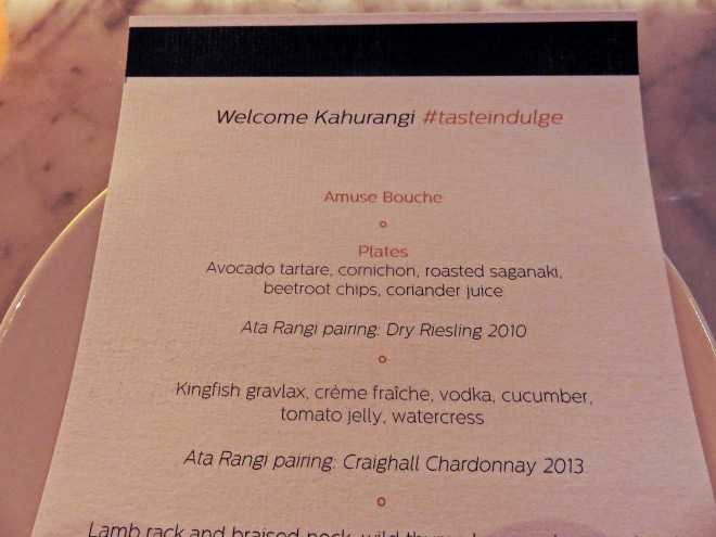 menu, food event, chameleon restaurant, wellington, zomato