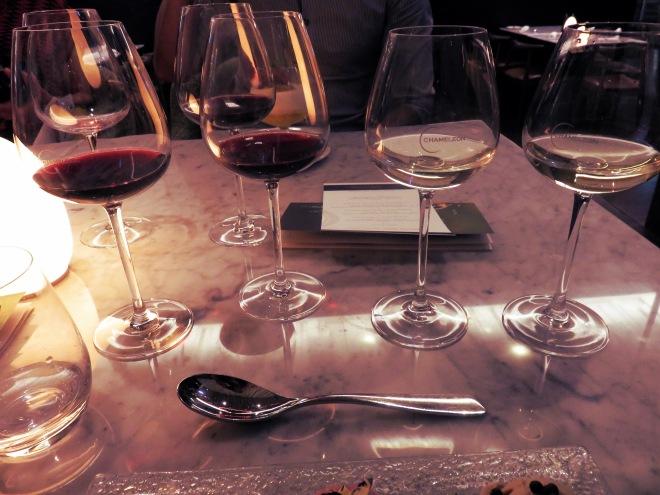 zomato, dinner event, wellington, chameleon restaurant, wine, food,