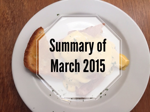 march 2015, monthly summary