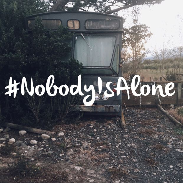 #nobodyisalone #mentalhealthblogchallenge