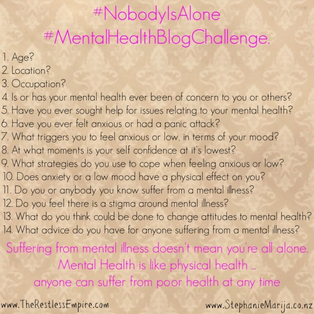 #nobodyisalone #meantalhealth mental health, nobody is alone