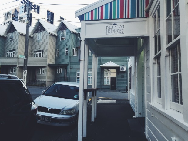 eateries, wellington, fish and chips, the chippery, food